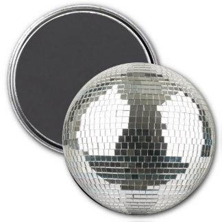 Mirrorball Disco Ball 7.5 Cm Round Magnet