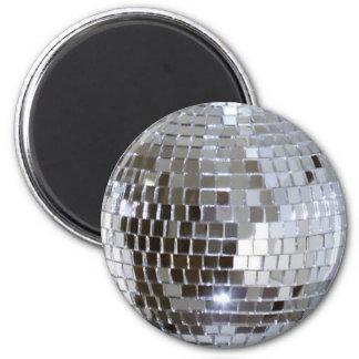 Mirrored Disco Ball 1 6 Cm Round Magnet