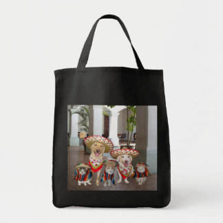 Mis Amigos Grocery Tote Bag