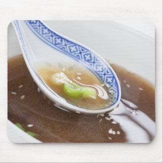 Miso Soup Mouse Pad