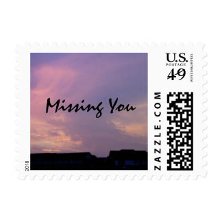 Missing You Postage Stamp by RoseWrites