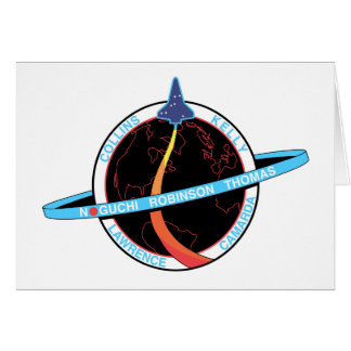 Mission Patch of the STS-114 Shuttle Mission - 200 Greeting Card