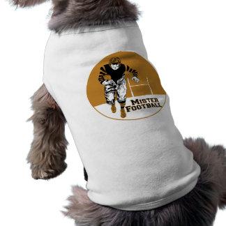 Mister Football Sleeveless Dog Shirt