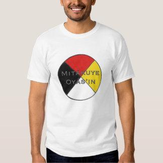 Mitakuye Oyasin Men's We Are All Related Lakota Tshirt