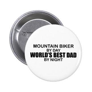 Mntn Biker - World's Best Dad 6 Cm Round Badge