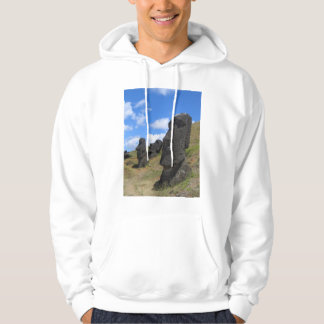 Moai on Easter Island Pullover