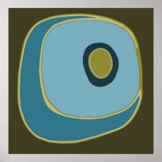 Mod Circle 6 - Art Print