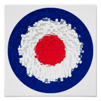 Mod Target with effect applied Poster