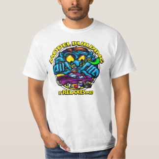 Model Building: It Relaxes Me T Shirt