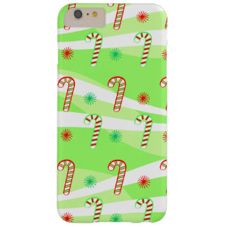 Modern Christmas Candy Canes iPhone 6/6s Plus Barely There iPhone 6 Plus Case