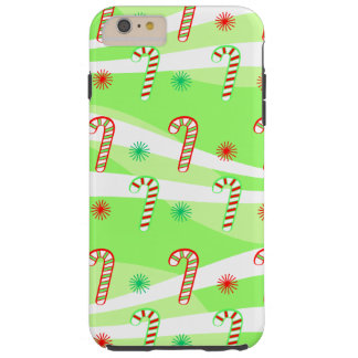 Modern Christmas Candy Canes iPhone 6/6s Plus Tough iPhone 6 Plus Case