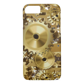 Modern Clock Engine iPhone 7 Case