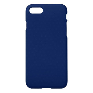 Modern Customizable Royal Navy Blue iPhone 7 Case
