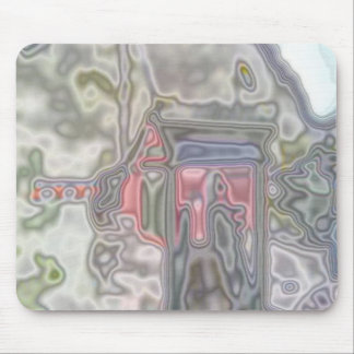 Modern unusual pattern mouse pad