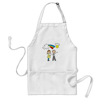 Mom and Dad to Be Tshirts and Gifts Standard Apron
