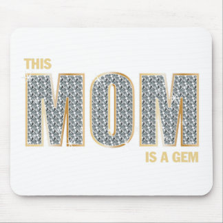 Mom Diamonds Mouse Pad