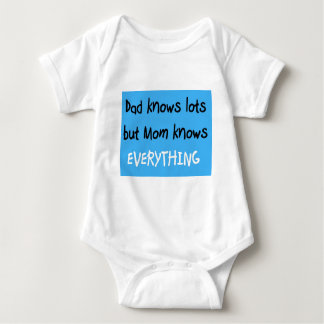 Mom knows everything tees