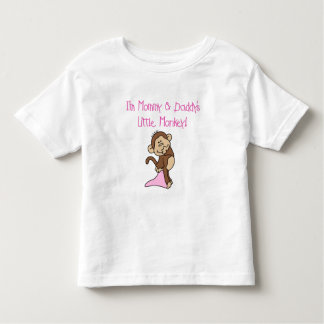 Mommy and Daddy's Monkey - Pink Tshirts and Gifts
