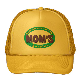 Mom's Pick Up and Delivery Service Cap