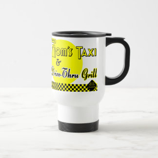 Moms Taxi and Drive-Thru Grill Coffee Stainless Steel Travel Mug