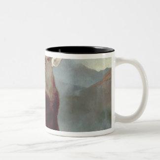 Monarch of the Glen, 1851 Two-Tone Mug