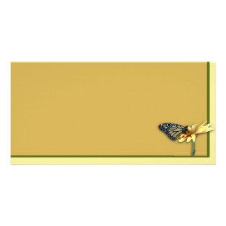 Monarch Photo Card Template