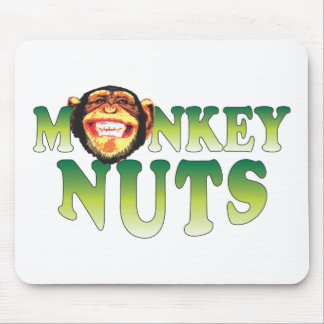 Monkey Nuts Mouse Pad