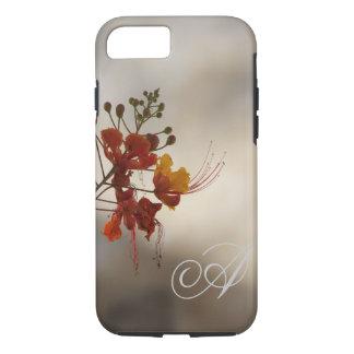 Monogram Floral Photo iPhone 7 case