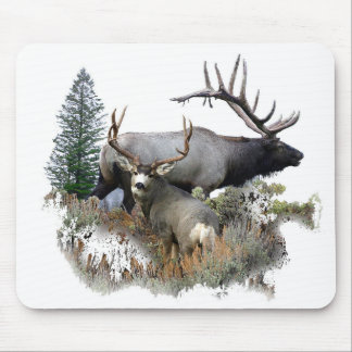 Monster bull trophy buck mouse pad