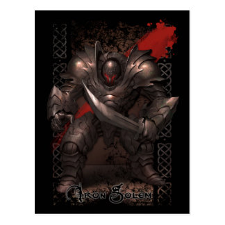 Monster Postcard - Iron Golem