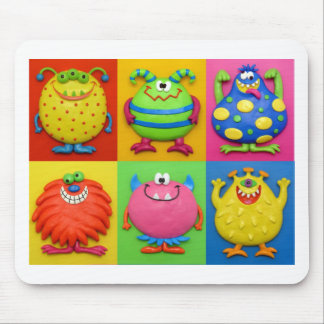 Monsters Mouse Pad
