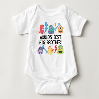 Monsters World's Best Big Brother Shirts