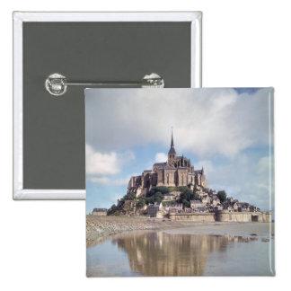 Mont Saint-Michel 15 Cm Square Badge