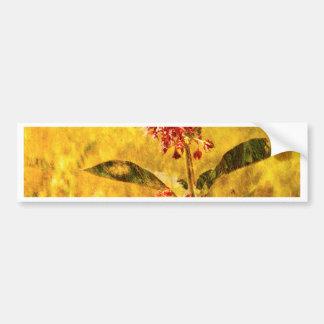 Montana Wildflower Bumper Sticker