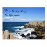Monterey Bay, California Postcard