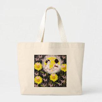 Month and Muko mallow and dance 妓 Jumbo Tote Bag