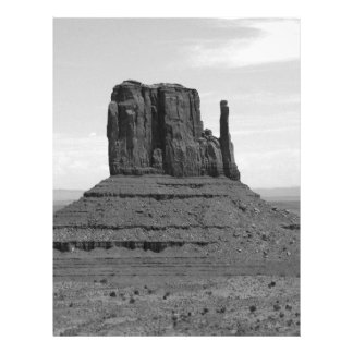 Monument Valley (black and white) 21.5 Cm X 28 Cm Flyer
