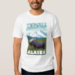 Moose Scene - Denali National Park, Alaska Shirt