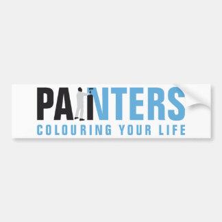 more painter one bumper sticker