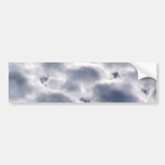 Morning Altocumulus Clouds Bumper Sticker