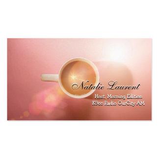 Morning Java Elegant  Professional Business Pack Of Standard Business Cards