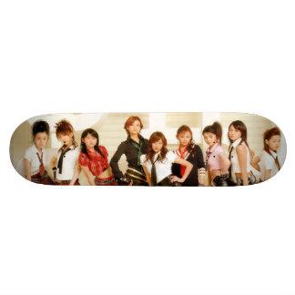 ~Morning Musume SK8TER!~ 18.4 Cm Mini Skateboard Deck