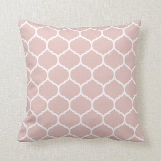 Moroccan Blush Pillow Throw Cushion