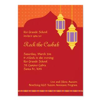 Moroccan Lantern Fundraiser Gala Invitation