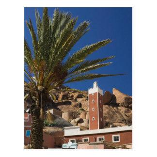 MOROCCO, Anti Atlas, TAFRAOUTE Area: ADAI, Red Postcard