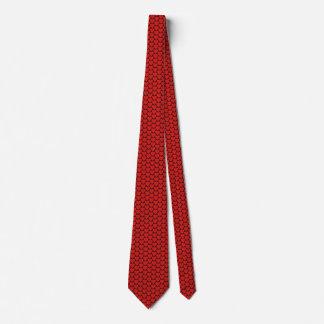 Morocco Flag Hearts Tie