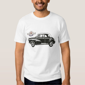 Morris Minor Car Vintage Hiking Duck T-shirts