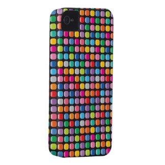 Mosaic Colorful Art Rainbow Dots iPhone 4 CaseMate iPhone 4 Covers
