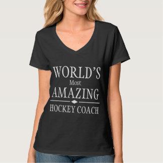 Most amazing hockey coach t-shirts
