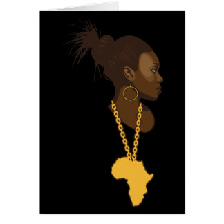 Mother Africa Greeting Card